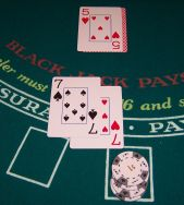 Splitting Pair, Black Jack
