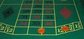 Split bets, Roulette