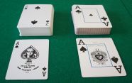Bridge and Paper Cards, Poker