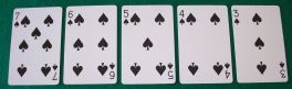 Straight Flush, Poker